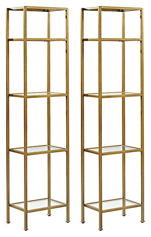 Crosley Aimee 2-Piece Etagere Set, , large