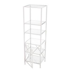 Southern Enterprises Santanna Tall X-Frame Bookcase/Etagere, , large
