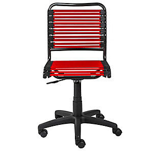 Euro Style Allison Bungie Low Back Office Chair, , rollover