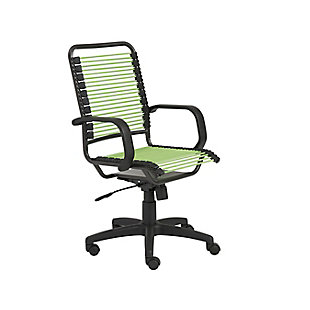 Euro Style Bradley High Back Bungie Office Chair, , large