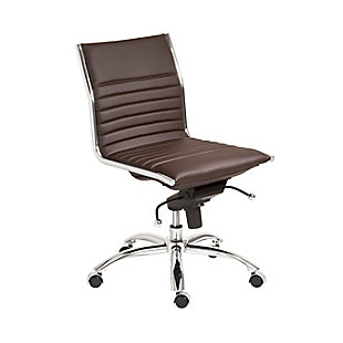 Euro Style Dirk Low Back Office Chair, , large