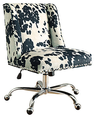 Linon Draper Office Chair, , large