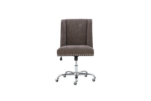 Draper Office Chair, Black, large