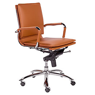 Euro Style Gunar Pro Low Back Office Chair, , rollover