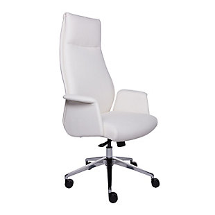 Euro Style Ilario High Back Office Chair, , large