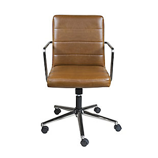 Euro Style Leander Low Back Office Chair, , rollover