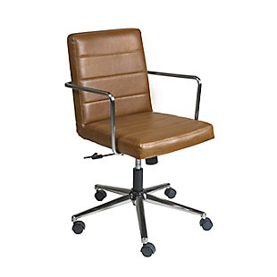 Euro Style Leander Low Back Office Chair, , large