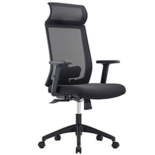 Euro Style Newton High Back Office Chair, , large