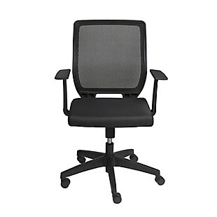 Euro Style Osmond Low Back Office Chair, , large