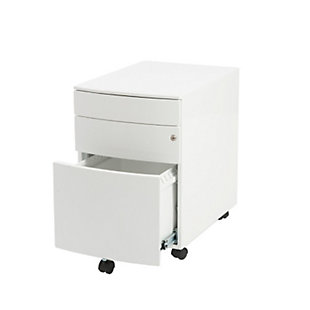 Euro Style Floyd 3 Drawer File Cabinet, , rollover