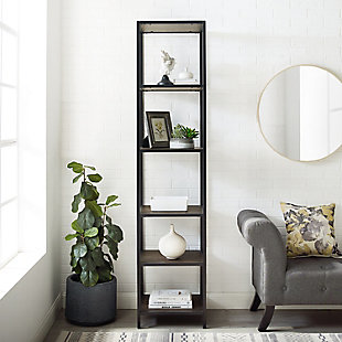 Crosley Jacobsen Narrow Etagere, , rollover