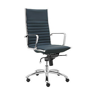 Euro Style Dirk High Back Office Chair, , large