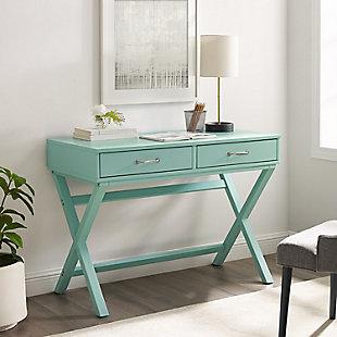 Linon Reese 2-Drawer Desk, , rollover