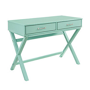 Linon Reese 2-Drawer Desk, , large