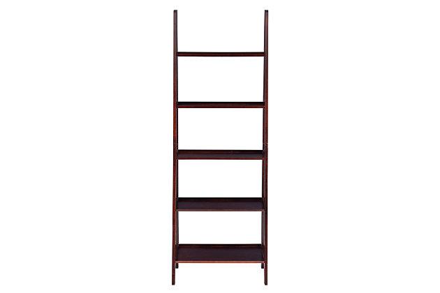 Linon Falan Ladder Bookshelf, , large