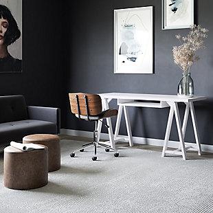 "Simpli Home Sawhorse Solid Wood Modern Industrial 60"" Writing Desk, , rollover"