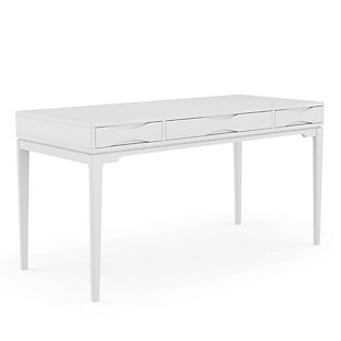 "Simpli Home Harper Solid Hardwood Mid Century Modern 60"" Desk, , large"