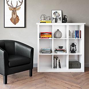 Simpli Home Artisan Contemporary 9 Cube Bookcase and Storage Unit, , rollover