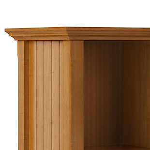 Simpli Home Acadian Rustic 8 Cube Storage Sofa Table, , large
