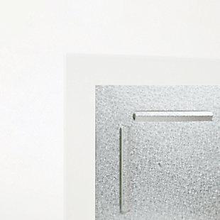 """U Brands 35"""" x 23"""" Frameless Floating Glass Dry Erase Calendar Board, , large"""