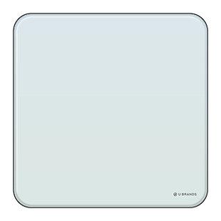 "U Brands 12"" x 12"" Frameless Magnetic Cubicle Glass Dry Erase Board, , large"