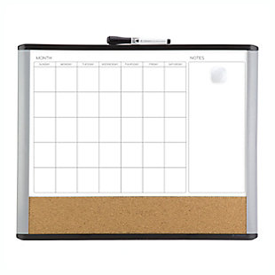 "U Brands 20"" x 16"" 3N1 Magnetic MOD Dry Erase Board, , large"