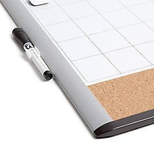 """U Brands 20"""" x 16"""" 3N1 Magnetic MOD Dry Erase Board, , large"""