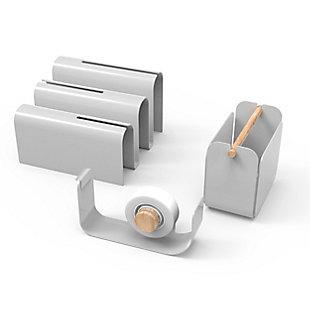 U Brands Arc Desktop Organization Kit, , rollover