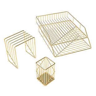 U Brands Vena Desktop Organization Kit, , rollover