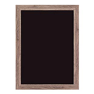 """U Brands 23"""" x 17"""" Decor Rustic Framed Magnetic Chalkboard, , large"""
