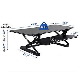 "FlexiSpot 47"" Sit-Stand Desk Converter, , large"