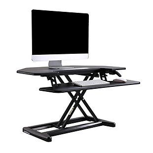 "FlexiSpot 36"" Sit-Stand Desk Converter, , rollover"