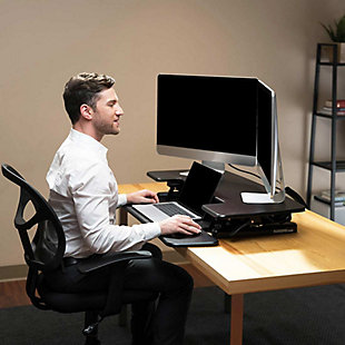 "FlexiSpot 35"" Sit-Stand Desk Converter, , rollover"