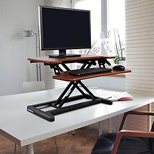 "FlexiSpot 28"" Sit-Stand Desk Converter, , rollover"