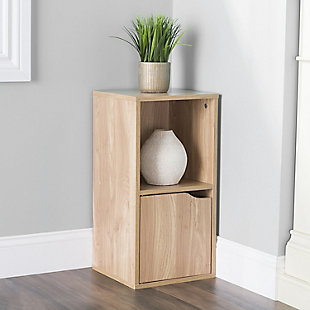 HDS Trading 2 Cube Wood Storage Shelf, , rollover