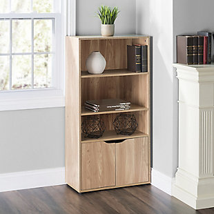 HDS Trading 3 Tier Wood Bookcase, , rollover