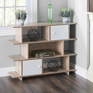 HDS Trading 3 Tier Wood Display Book Shelf Organizer Unit, , rollover