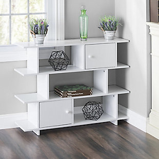 HDS Trading 3 Tier Wood Book Shelf, , rollover