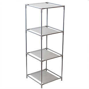HDS Trading Multi-Purpose Free-Standing 3 Cubed Organizing Storage Shelf, , large