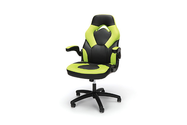 Ofm Essentials Collection Racing Style Bonded Leather Gaming Chair Ashley Furniture Homestore