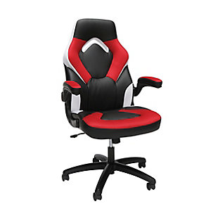 OFM Essentials Collection Racing Style Bonded Leather Gaming Chair, , large