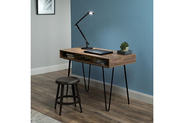 """OFM Core Collection 44"""" Home Retro Desk, Knotty Oak, large"""