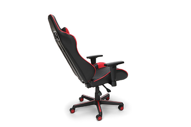 RESPAWN 100 Racing Style Gaming Chair, Red/Black, large