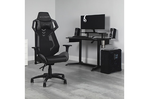 RESPAWN 200 Racing Style Gaming Chair, Gray, large