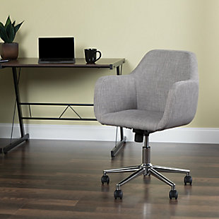 OFM Essentials Collection ESS-2085 Upholstered Home Office Desk Chair, , rollover