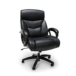 OFM Essentials Collection ESS-6040 Big & Tall Executive Bonded Leather Chair, , large