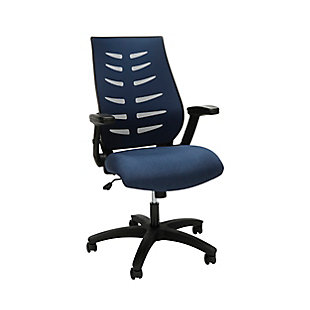 OFM 530 Core Collection Midback Mesh Office Chair, Blue, large