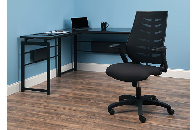 OFM 530 Core Collection Midback Mesh Office Chair, Black, large