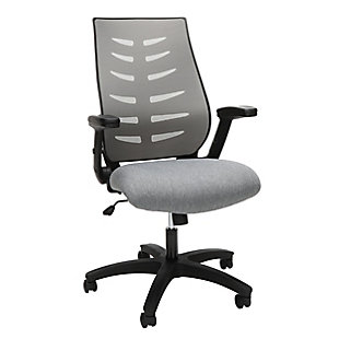 OFM 530 Core Collection Midback Mesh Office Chair, Gray, large