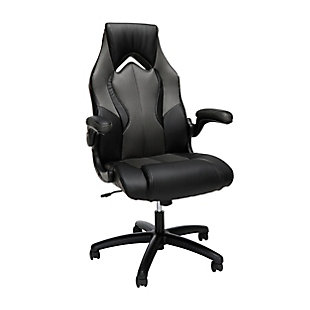 OFM Essentials Collection High-Back Racing Style Bonded Leather Gaming Chair, , large